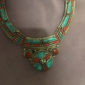 Native Indian or Bohemian necklace